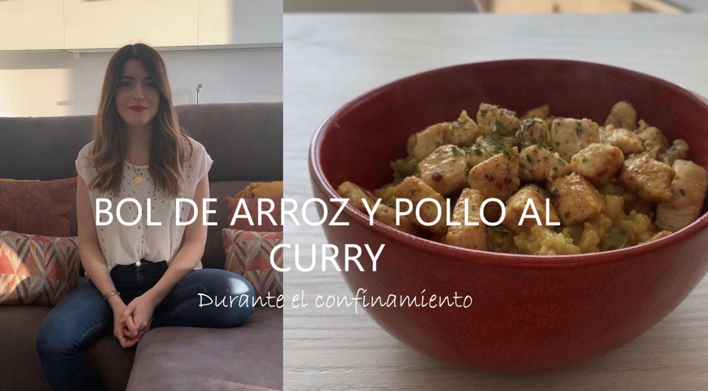 ¡Ideas para comer! Bol de Arroz integral y Pollo al Curry